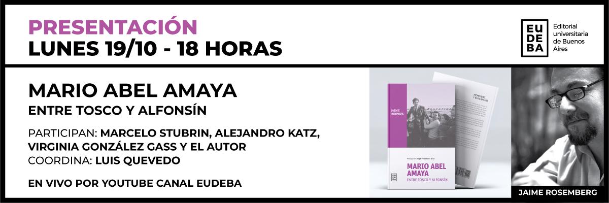 Presentación Libro Amaya